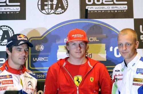 KIMI RAIKKONEN CORRERÁ CON UN CITROEN C4 EN EL WRC