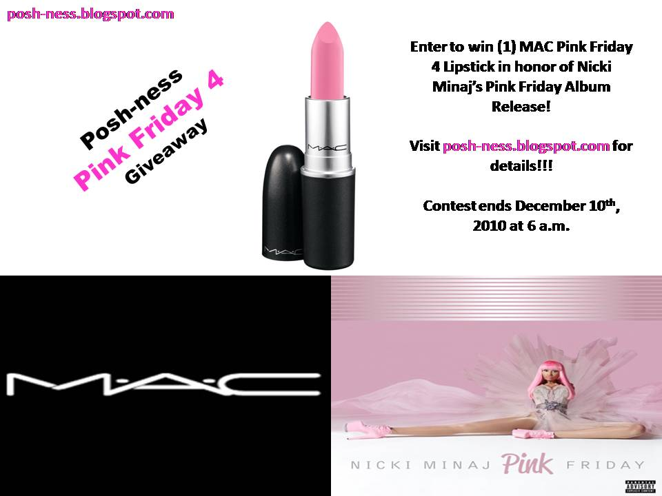 nicki minaj pink friday album songs. (1) Pink Friday 4 Lipstick
