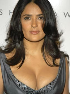 Salma Hayek addicted to Breastfeeding