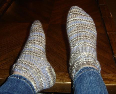 Tara\'s Knits: Chunky Ankle Socks