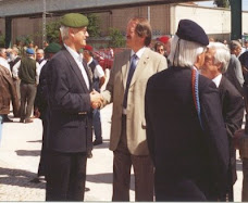 MR e Sr. D. Duarte de Bragança (Ex-Combatente em Angola)