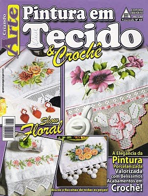 Download - Revista Pintura em Tecido e Crochet