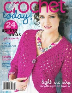 Download - Revista Crochet Today  Abril 2009