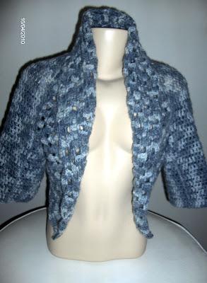 Sherug  ou bolero em crochet