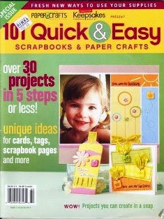 101 Quick & Easy - Scrapbook and paper crafts