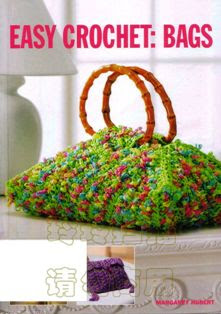 Livro Easy Crochet: Bags