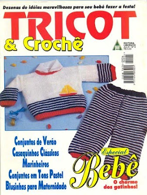 Download - Revista  Tricot Crochet Especial n.4