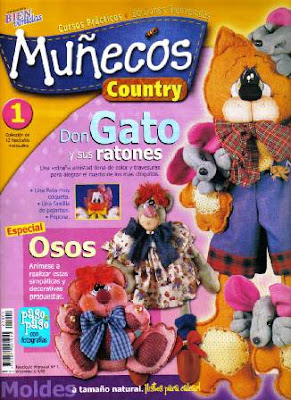 Download - Revista  Bonecos em Eva