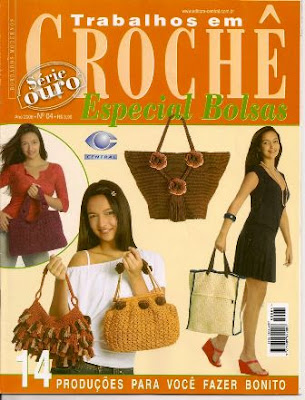 Download - Revista  Crochet Especial Bolsas n.4