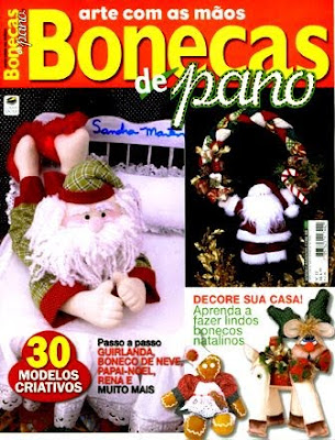 Download - Revista  Bonecos de Pano - Natal n.22