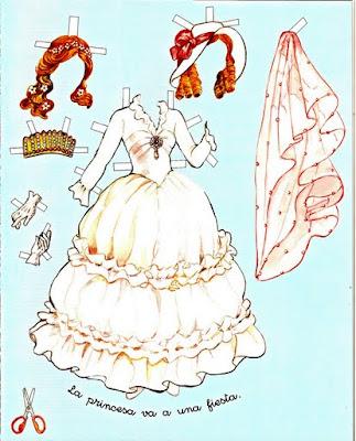 Paper Doll - Bonecas de papel Vintage 4