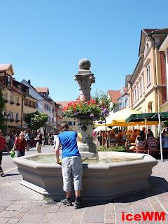 Ein Brunnen in Meersburg