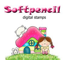 Soft Pencil Digital Stamps