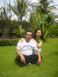 With my beloved husband