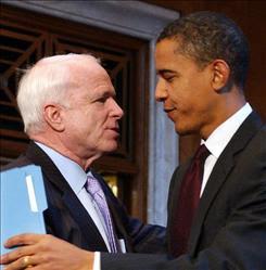 أوباما و ماكين