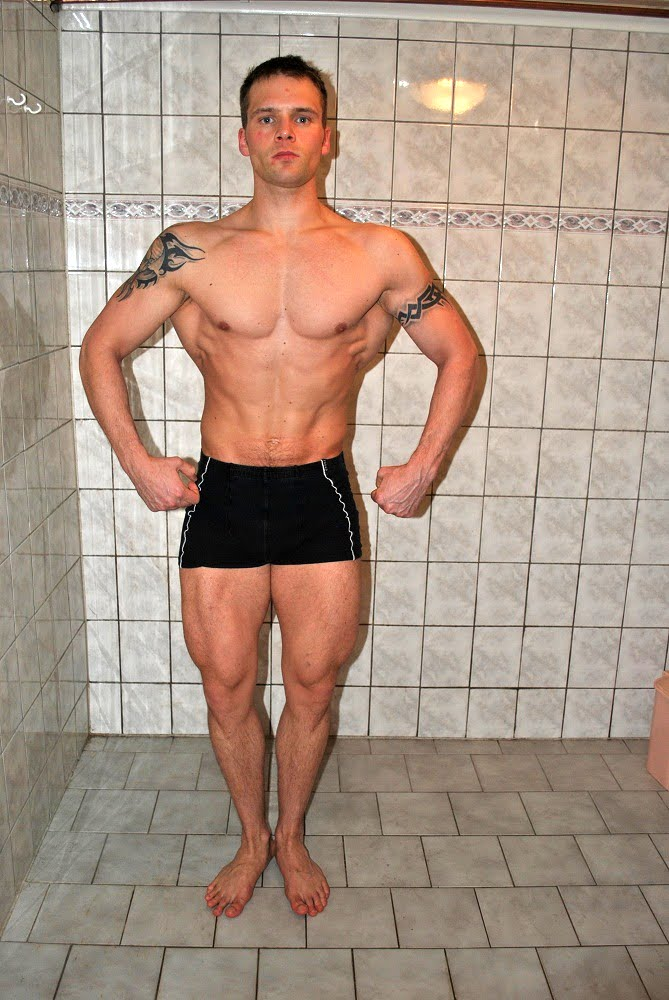Can I Naturally Be Shredded At  Pounds