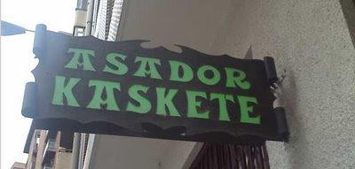 Nombre desafortunado: asador kaskete