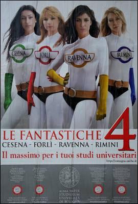Las cuatro fantásticas de la Universidad de Bolonia