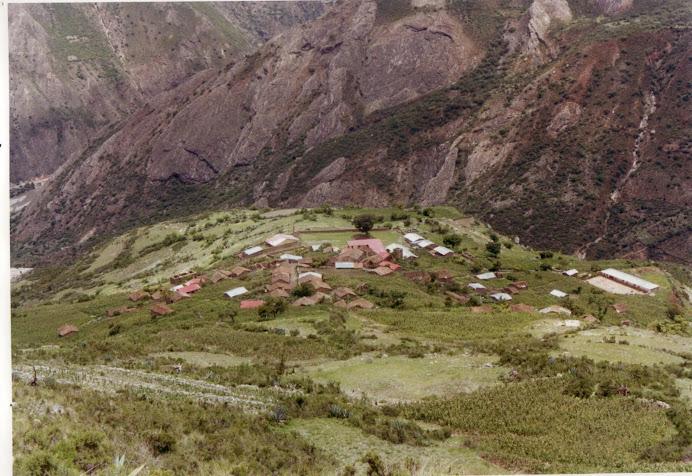 Vista Panoramica de Pichihua capital del Dist. Justo Apu Sahuaraura