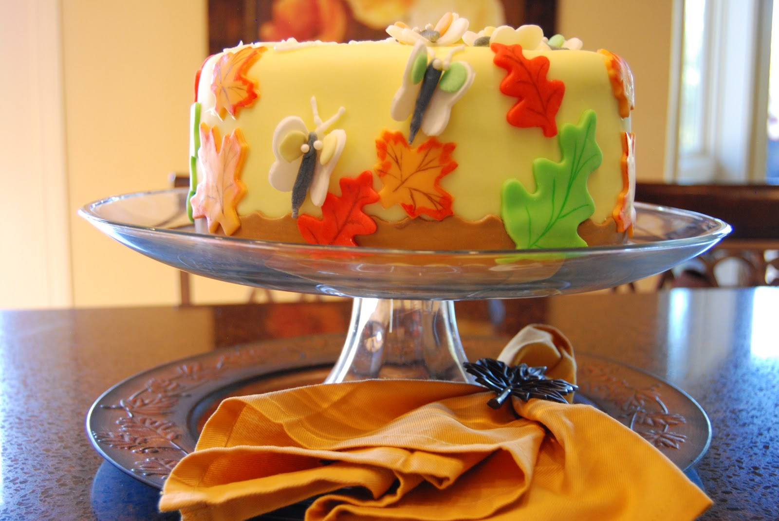 Special Fall Birthday Cakes