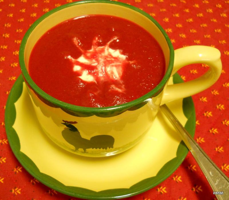 ir ne s leckereien rote bete suppe indisch ayurvedisch. Black Bedroom Furniture Sets. Home Design Ideas
