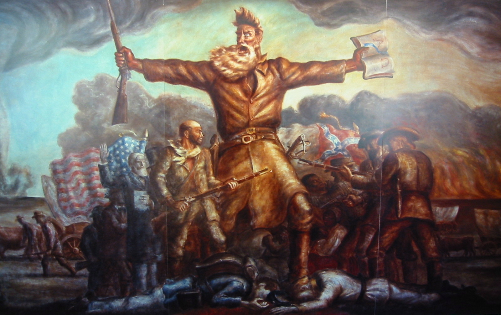 the actions of john brown an abolitionist John brown was a man of action  the family moved to northern ohio when john was five,  many northerners began to speak favorably of the militant abolitionist.
