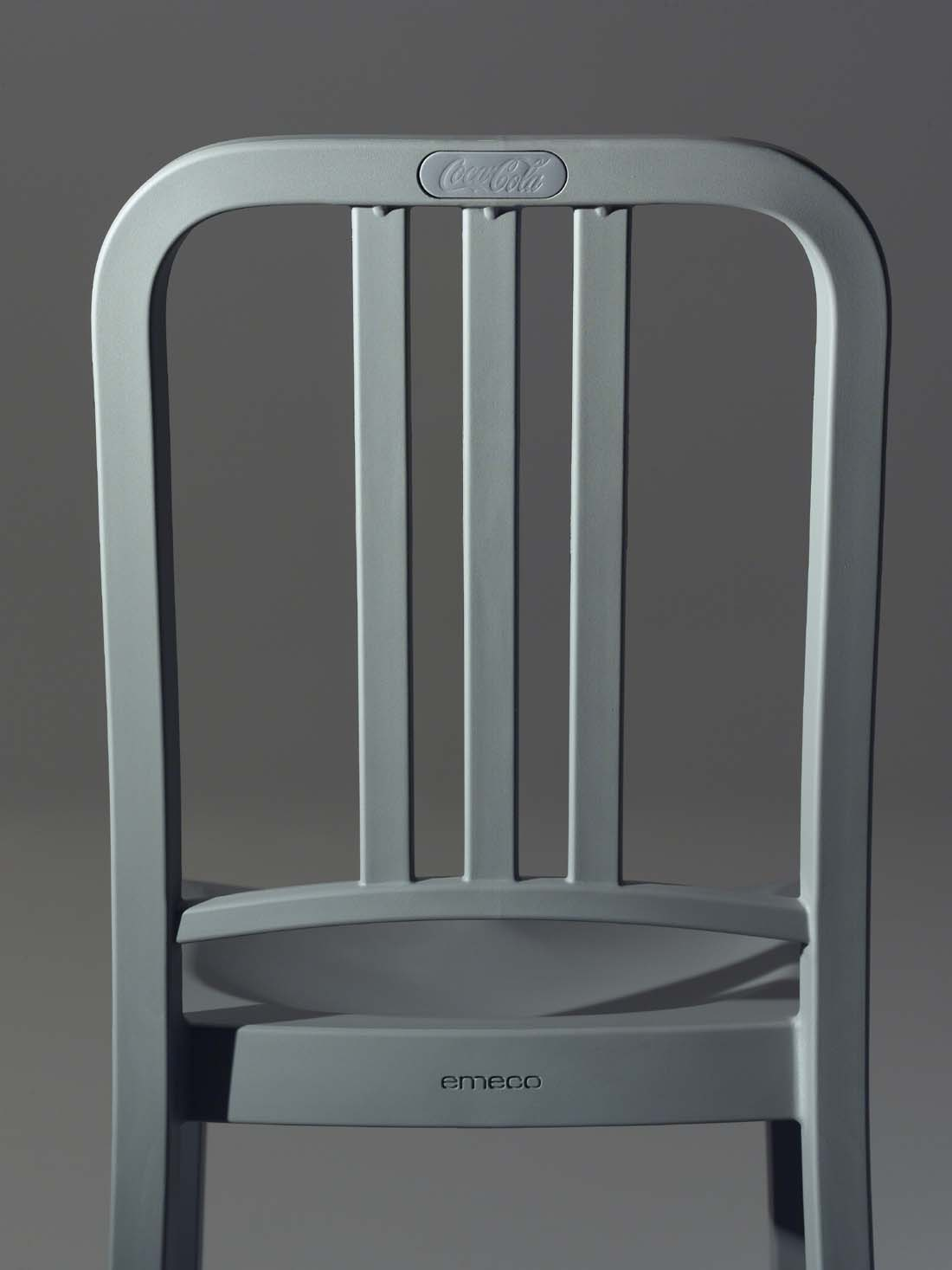 I Really Love The Idea That Coca Cola In Collaboration With Emeco Creating  Chairs Made From 111 Recycled Plastic Bottles, Called 111 Navy Chair, ...