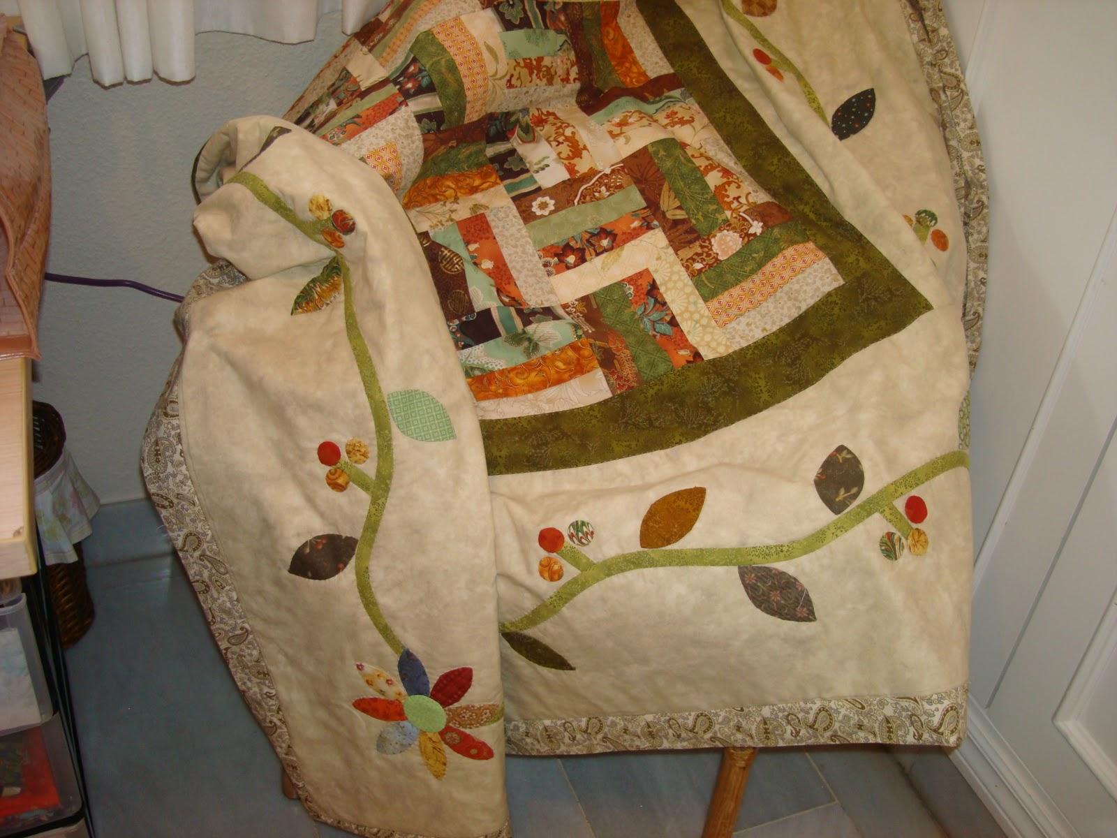 Ana y sus labores de patchwork tapete mesa for Tapete mesa