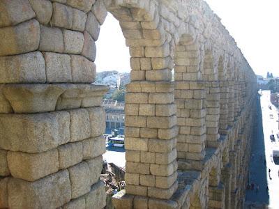Acueducto-de-Segovia-de-noche