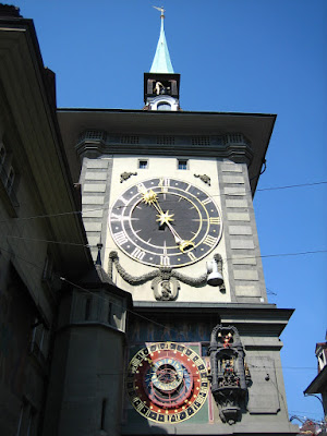 Berna. Suiza. Torre del Reloj