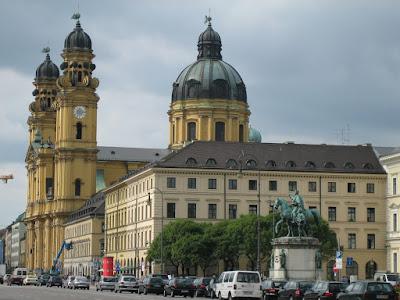 Arquitectura clásica en Munich