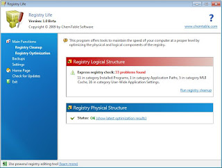 Registry Life - Otimize o Registro do Windows