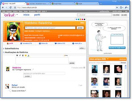 Novo orkut à caminho