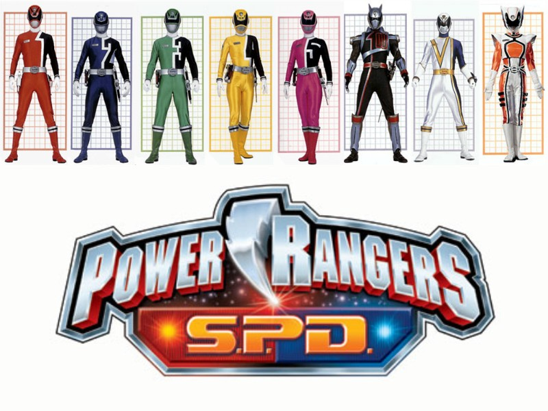 Power Rangers SPD