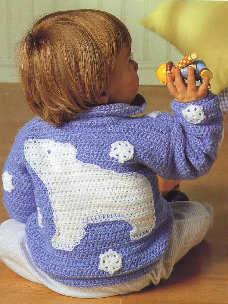 Вязания крючком и спицами детских вещей