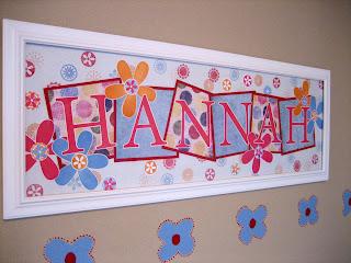 hannahs name frame - Name Frames