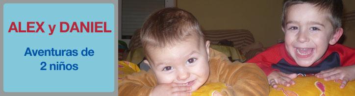 Alex y Daniel Gonzalo - Aventuras de dos bebés
