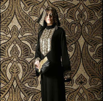 beduoin princess arabesque abaya and sheila winter 2008 collection. Black Bedroom Furniture Sets. Home Design Ideas