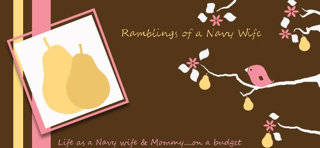 Ramblings of a Navy Wife