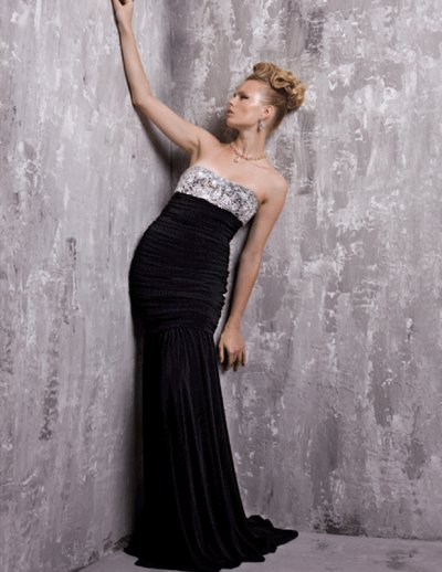 long elegant prom dresses. Elegant strapless evening prom