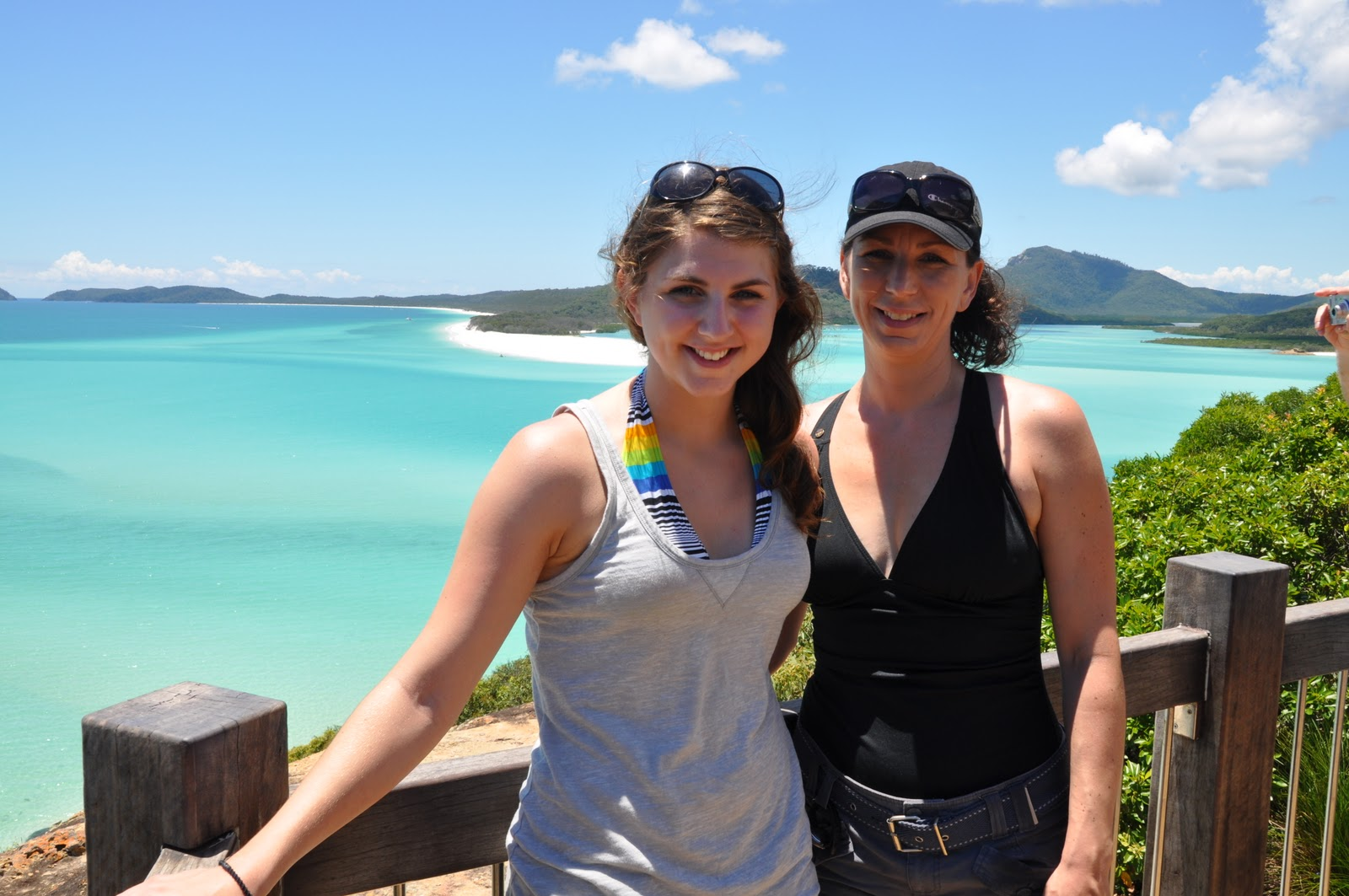 Whitehaven beach in january