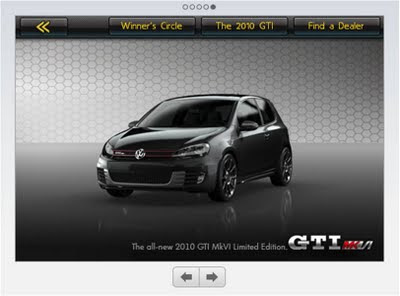 VW 2010 GTI Real Racing App