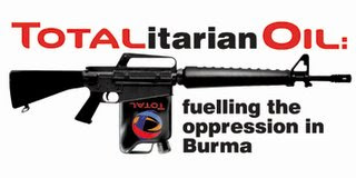 Free Burma Action Center: French Oil Giant Total SA's Total Denial