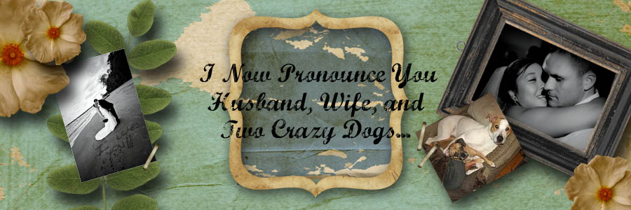 I Now Pronounce You: Husband, Wife and Two Crazy Dogs