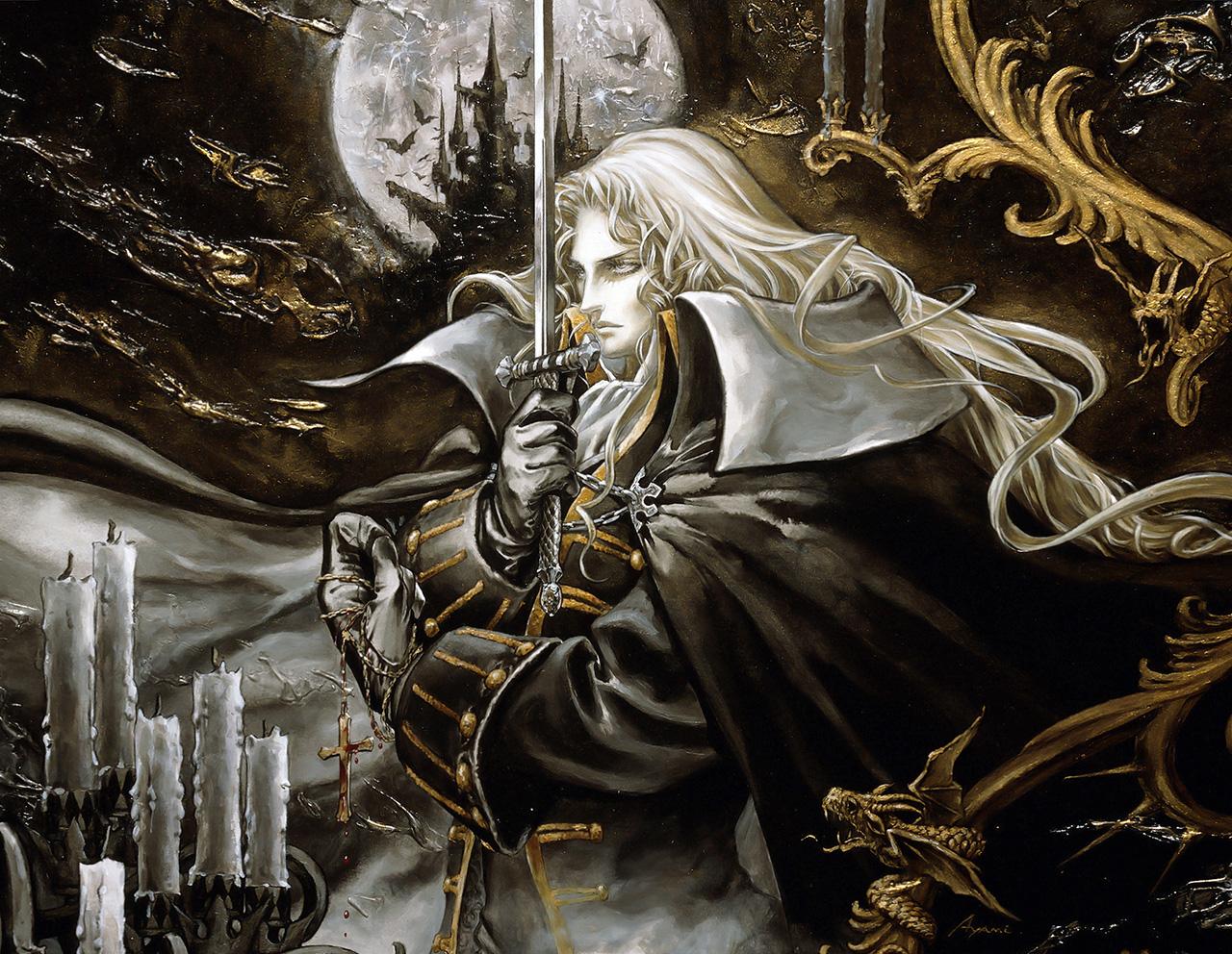 Alucard, de Castlevania Symphony of the Night