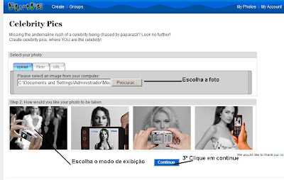 Galeria de Imagens para orkut