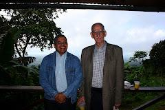 Con mi amigo y maestro Manuel Salvador Gautier