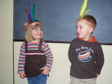 Thanksgiving Feast at Preschool