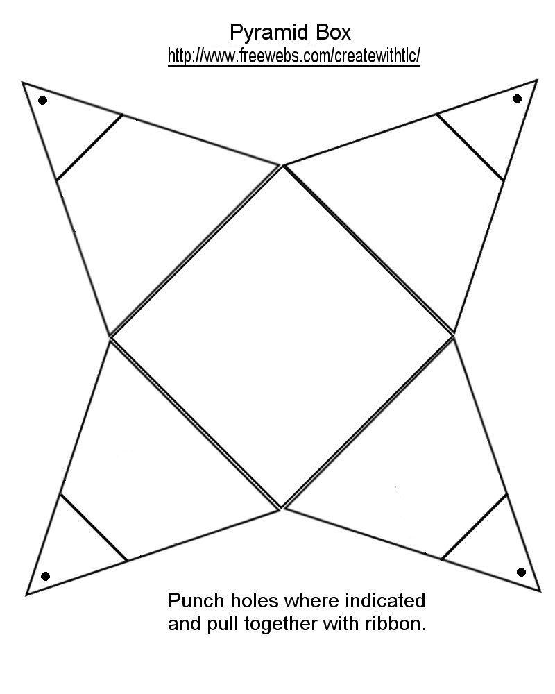 Energy Pyramid Worksheet Printable pyramid patterns