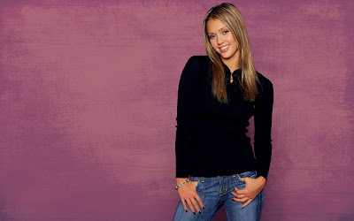 1440x900 jessica alba widescreen wallpaper